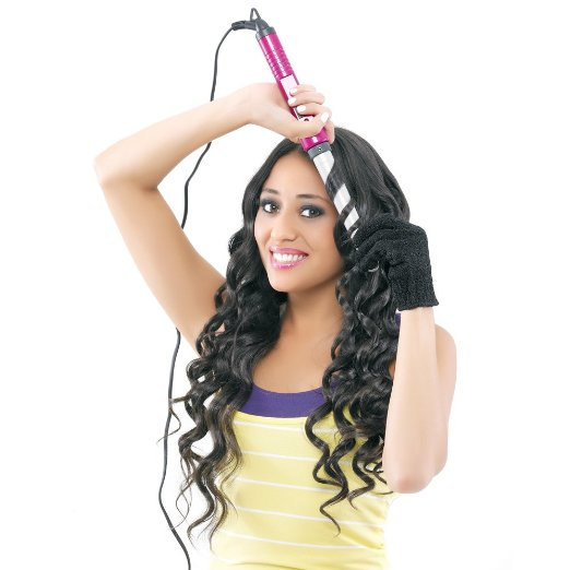 Bed Head Bh318 Curli Pops Tourmaline Ceramic Tapered Curling Iron