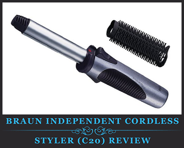 Braun Independent Cordless Styler (C20) Review