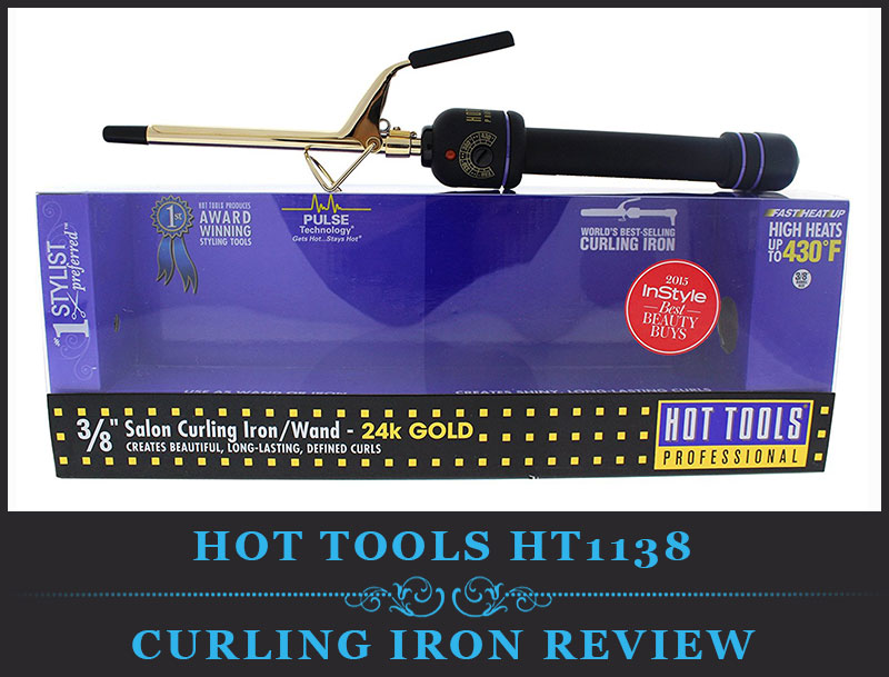 Featured Image Of Hot Tools HT1138 Micro Mini Professional Curling Iron With Multi Heat Control