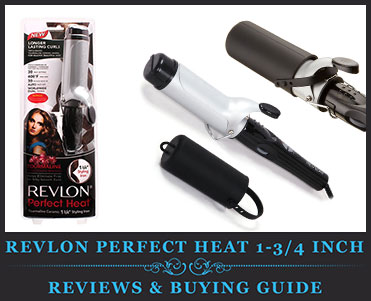 Revlon Perfect Heat 1-3/4 inch Curling Iron Review