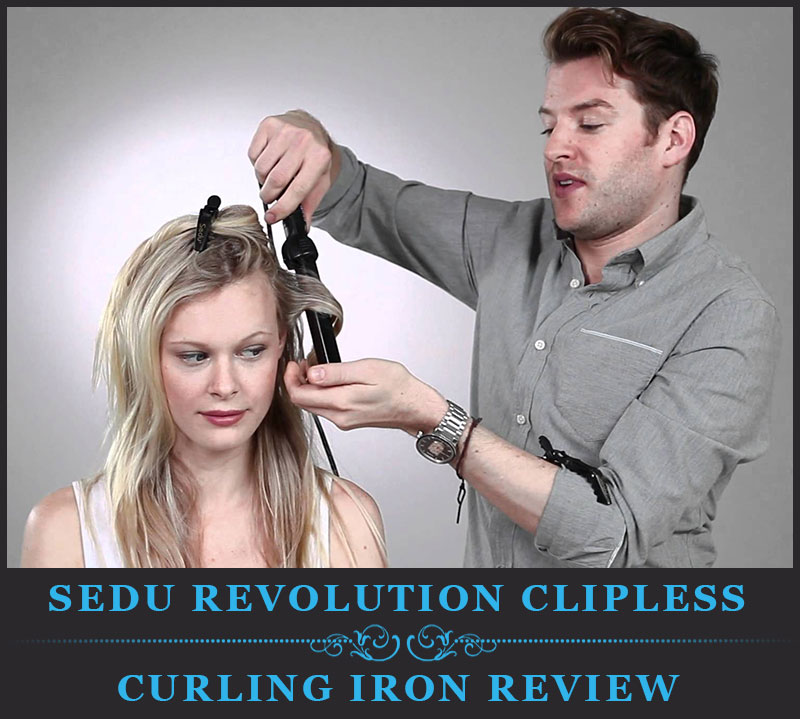Featured Image Of Sedu Revolution Clipless Curling Iron Review