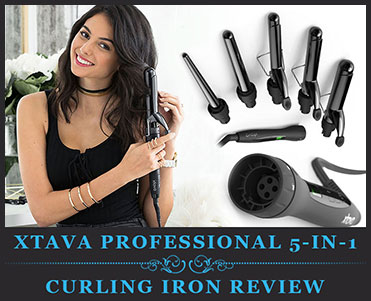XTAVA Professional 5-in-1 Curling Iron Review