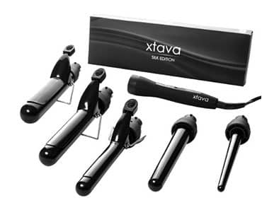 XTAVA Professional 5-in-1 Curling Iron