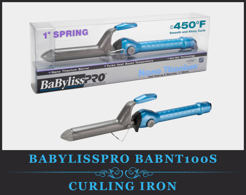 Featured Image Of Babyliss Pro BABNT100S Professional Nano Titanium Spring Curling Iron Review