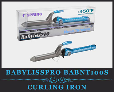 Babyliss Pro BABNT100S Professional Nano Titanium Spring Curling Iron Review