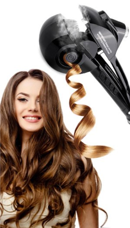 Steam Tech Automatic Curling Iron
