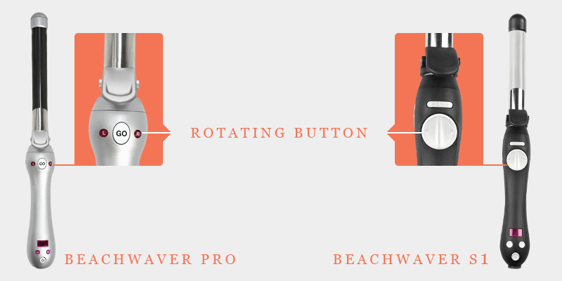 Beachwaver Pro And Beachwaver S1 Rotating Button