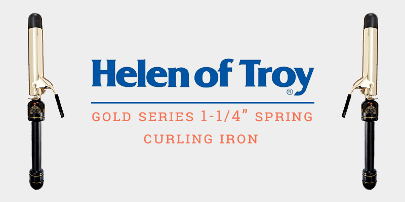 Helen Of Troy Gold Series Spring Curling Iron 1-1.4 Inches