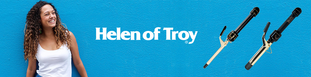 Helen of Troy Curling Iron Banner