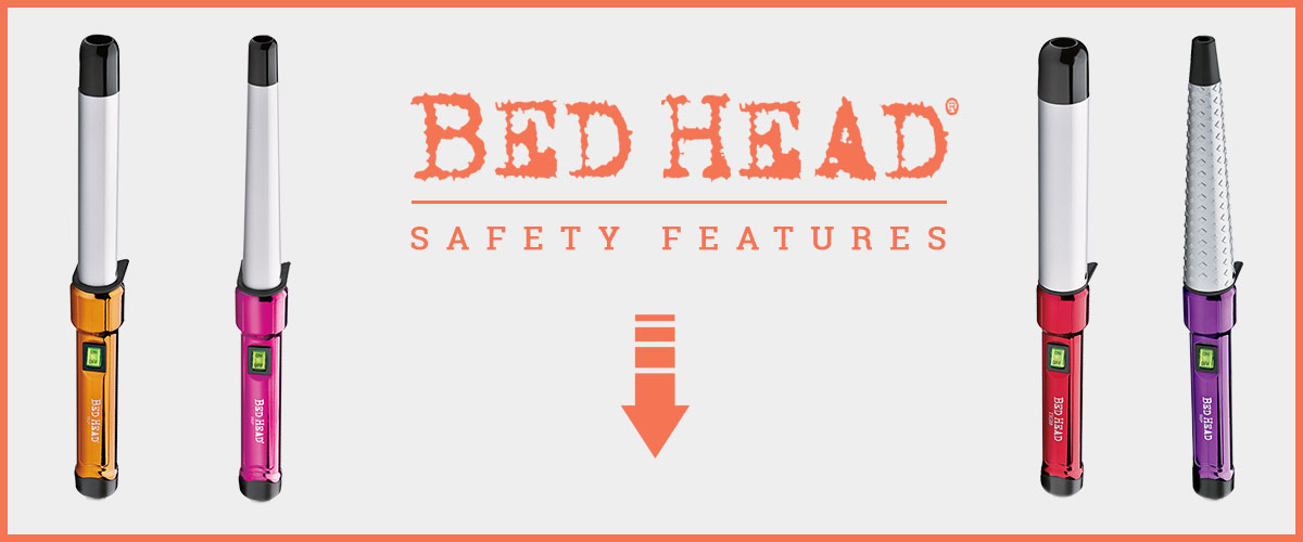 Safety Outlooks Banner Of Bed Head Curling Iron