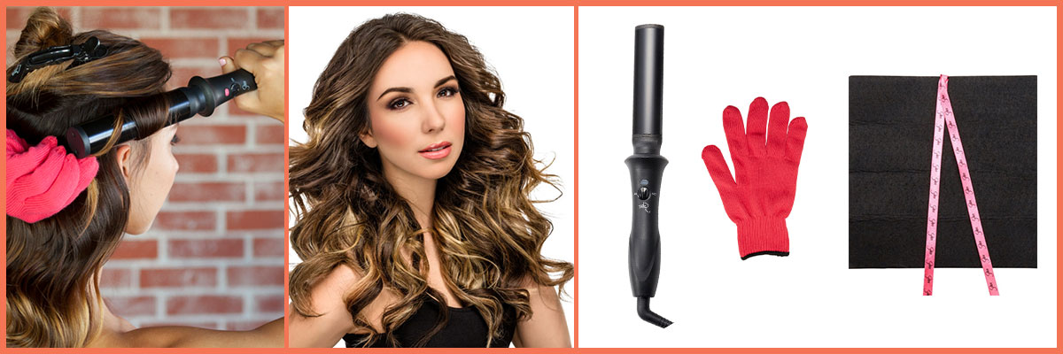 Sultra the Bombshell Rod Curling Iron, Oval Shaped