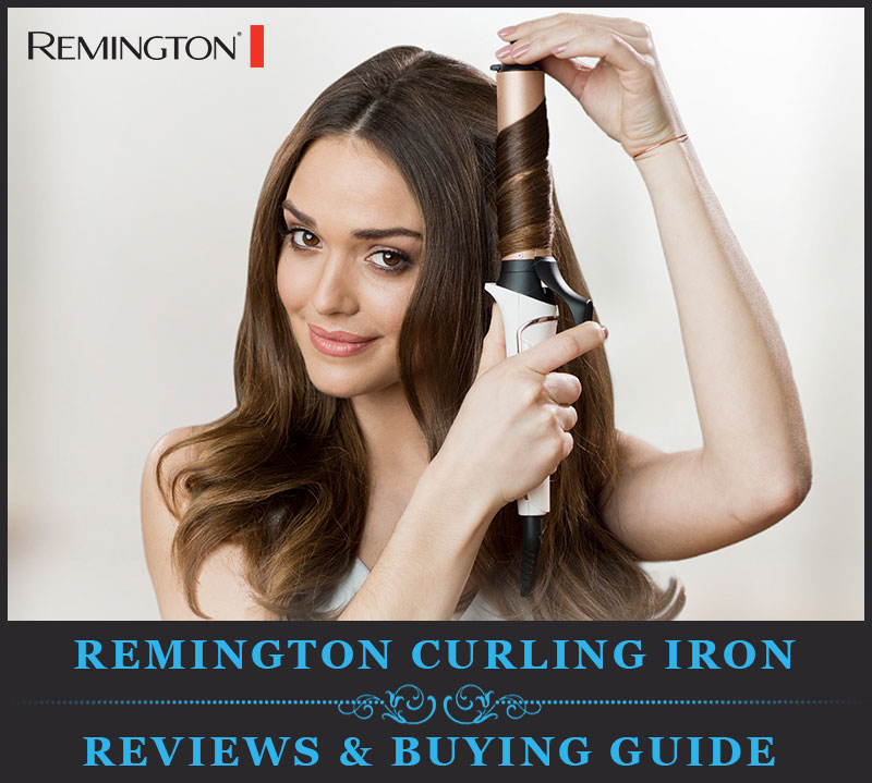 Featured Image Of Remington Curling Iron & Wand Reviews & Buying Guide