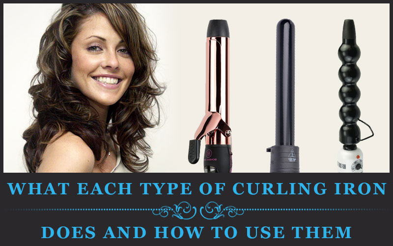Featured Image Of What Each Type Of Curling Iron Does And How To Use Them