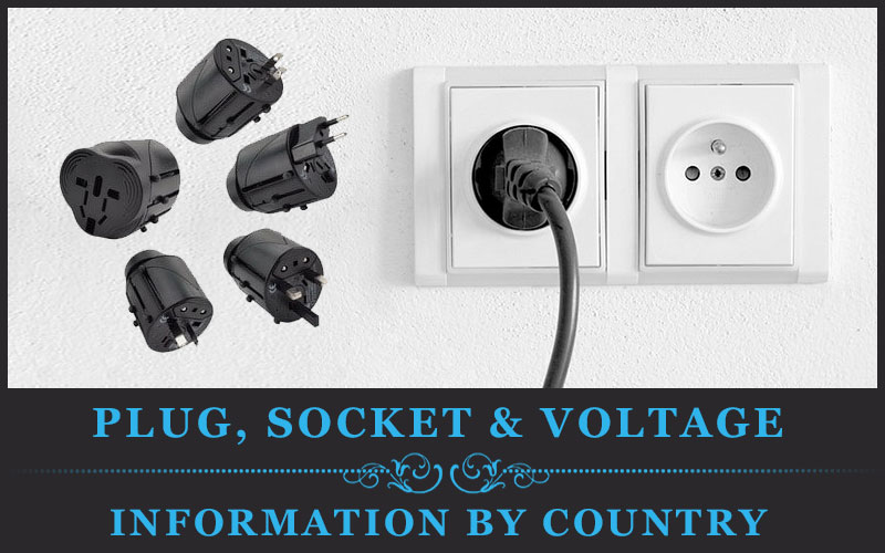 Featured Image Of Plug, Socket & Voltage Information By Country