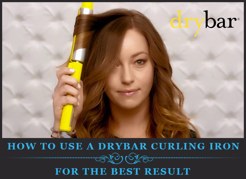 Featured Image Of How to use a Drybar curling iron for the best result