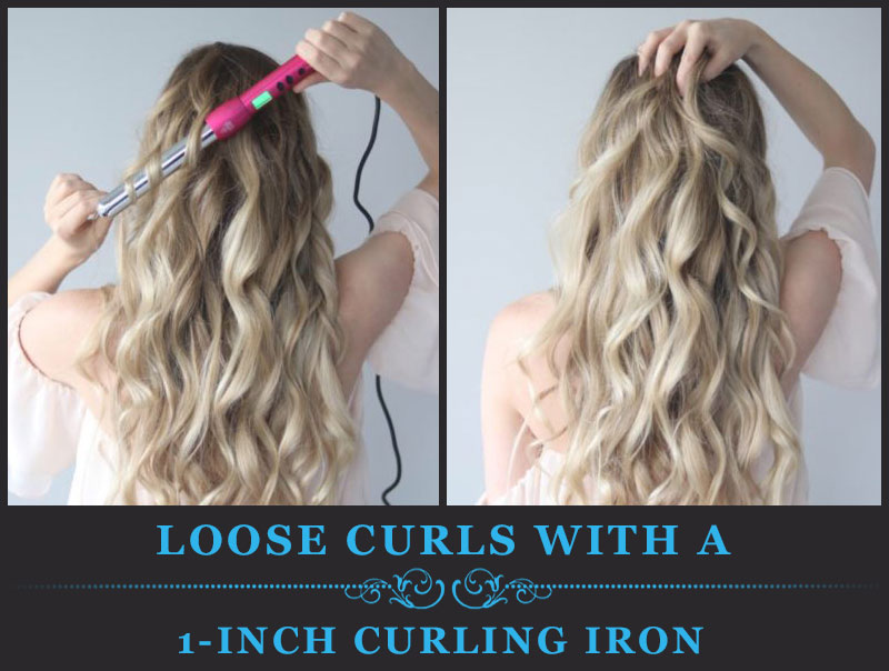 Featured Image of Loose Curls With a 1 Inch Curling Iron