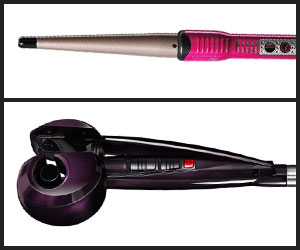 Curling wand and curler machine of Conair curling iron