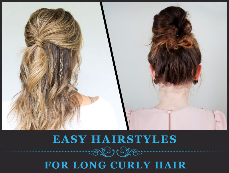Featured Image of Easy Hairstyles for Long Curly Hair