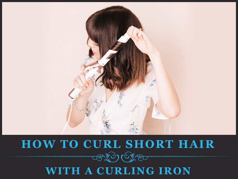 Featured Image of How to Curl Short Hair With a Curling Iron