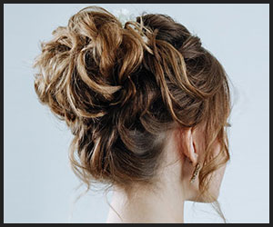 Messy, Loose Top Knot