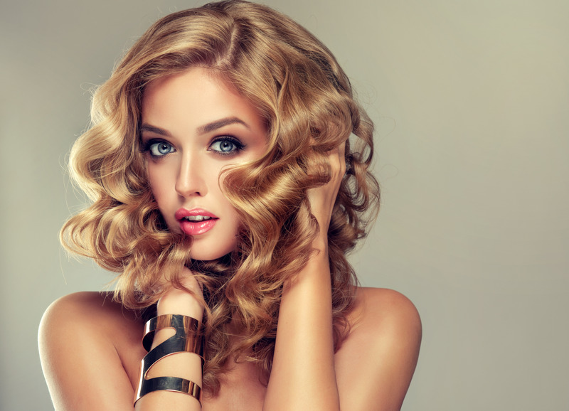 Beautiful curls with Remington curling irons