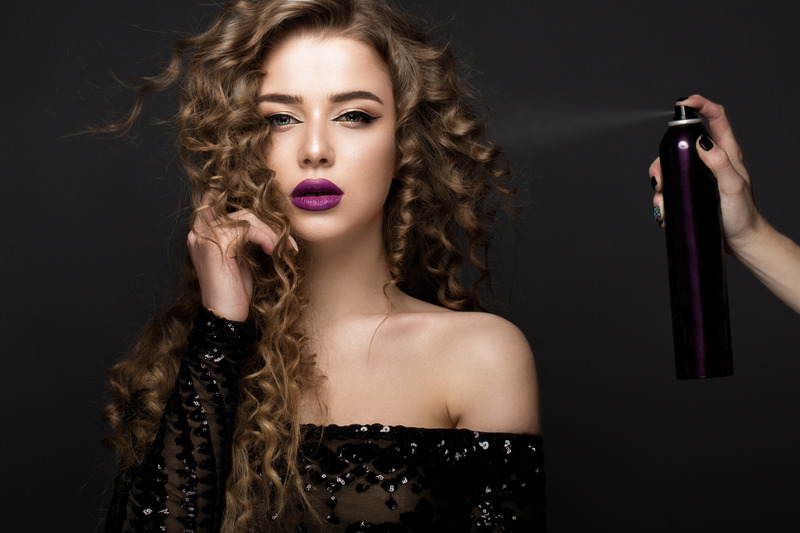 Classic curls hairstyle