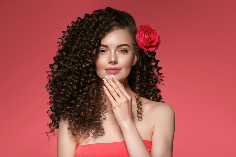 Tight curl with Conair Double Ceramic